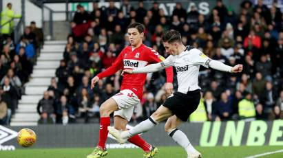 Rams Earn A Point Against Boro At Pride Park