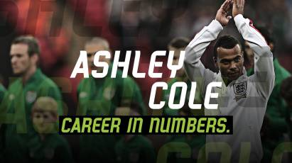 Ashley Cole: Career In Numbers