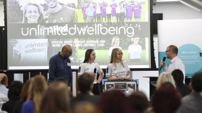 Ladies Players Attend Sponser's Unlimited Wellbeing Event