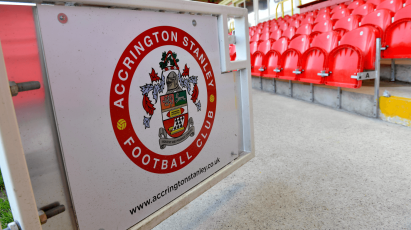 Team News Confirmed For Accrington Stanley FA Cup Clash