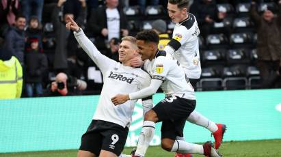 Waghorn Breaks 100-Goal Mark To Fire Rams To Victory