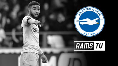 How To Follow Derby's FA Cup Trip To Brighton On RamsTV
