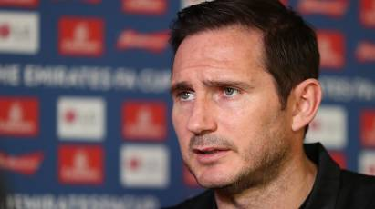 Watch Lampard's Media Briefing Ahead Of Brighton Cup Clash