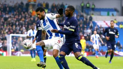 Brighton And Hove Albion 2-1 Derby County