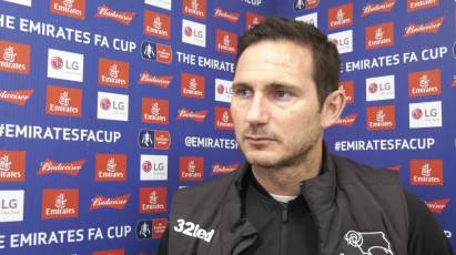 Lampard Reacts To FA Cup Exit