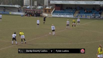 Derby County Ladies 0-1 AFC Fylde Ladies