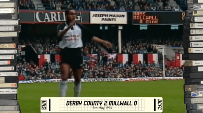 Rams Classic: Derby County 2-0 Millwall - 15th May 1994
