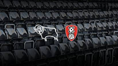 Secure Your Seat As Derby Return To Action Against Rotherham