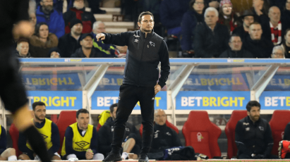 Lampard Reacts To Disappointing Defeat