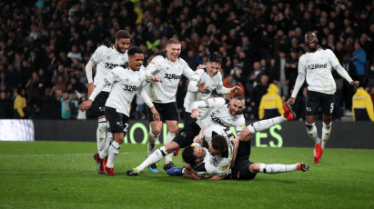Relive Derby County's Victory Against Wigan Athletic In Full