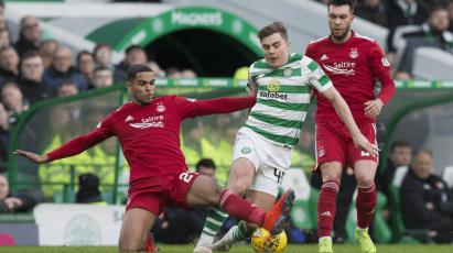 Max Lowe Helps Aberdeen To Clean Sheet At Celtic Park