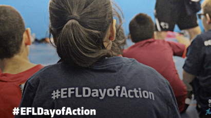 Derby County Support EFL Day Of Action