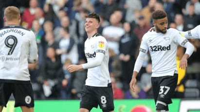 Watch The Full 90 Minutes Of Derby's Emphatic 6-1 Victory Over Rotherham United