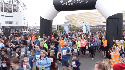Thousands Take Part In DCCT's Derby 10K Race
