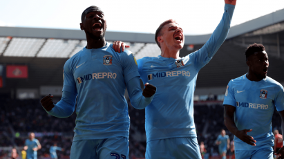 Thomas Stars For Coventry City In High-Scoring Victory