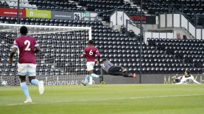 Derby County U23s 2-2 West Ham United U23s