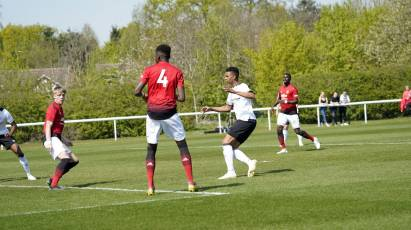 Young Rams Fall To Man United In Final Home Game