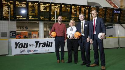 Derby County To Help Tackle Increasing Numbers Of Railway Risk Takers