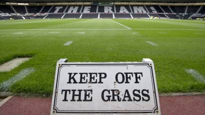 Please Stay Off The Pitch On Saturday
