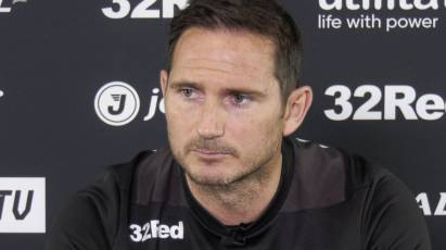 Lampard Addresses The Media Ahead Of Play-Off First Leg Clash