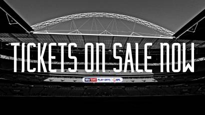 Tickets For Sky Bet Championship Play-Off Final On General Sale