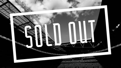 Tickets For Play-Off Final At Wembley Stadium SOLD OUT!