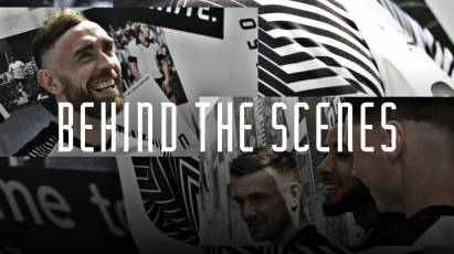 Behind The Scenes During 2019/20 Home Kit Launch