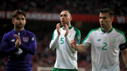 Keogh Helps Maintain Republic Of Ireland's Unbeaten Start To Euro Qualification