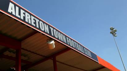 Under-23s To Face Alfreton In Pre-Season