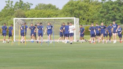 Rams Prepare For First Pre-Season Test