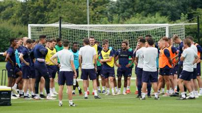 Players Return To Training At Moor Farm