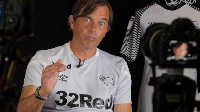 Phillip Cocu's First Interview In Derby In Association With 32Red