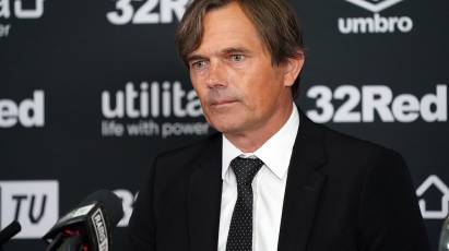 Phillip Cocu's First Full Press Conference As Derby County Manager