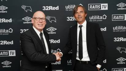 Celebrating One Year Of Phillip Cocu As Derby County Manager