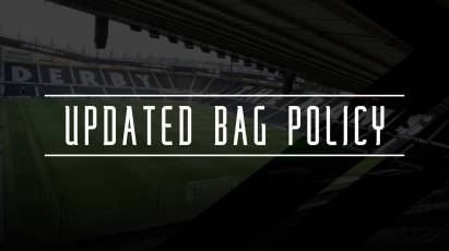 Updated Bag Policy And Outside Refreshment Policies