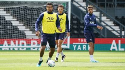 Huddlestone Felt Derby's Open Training Session Was Beneficial