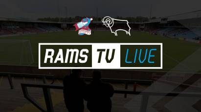 Live Audio Stream Available For Derby's Trip To Scunthorpe