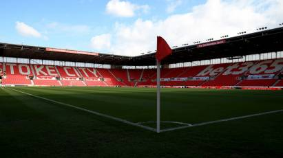 Tickets For Stoke City Clash Sold Out