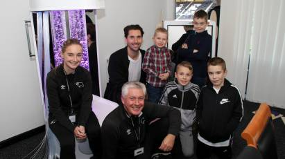 Derby County Sensory Room Unveiled for 2019/20 Season