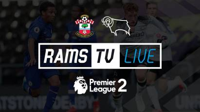 Watch Derby County U23s' Take On Southampton For FREE On RamsTV