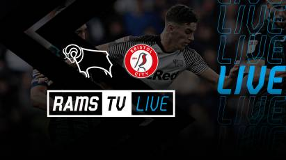Derby Vs Bristol City Available To Watch LIVE in The UK On RamsTV