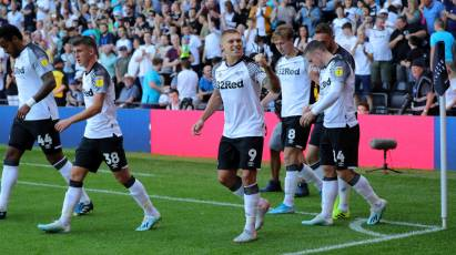 Highlights: Derby County 1-1 West Bromwich Albion