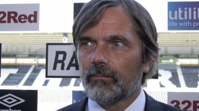Cocu Looking Forward To First East Midlands Derby On Tuesday