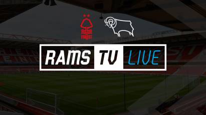 Live Audio Stream Available For Derby's Cup Clash With Forest