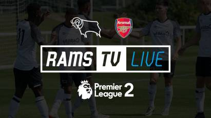 Watch Derby County U23s' Take On Arsenal For FREE on RamsTV