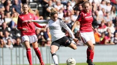 Ladies Highlights: Derby County 0-1 Nottingham Forest