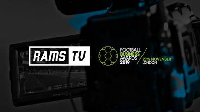 RamsTV Shortlisted For 2019 Football Business Award