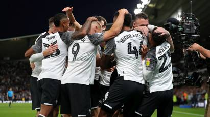 Relive The Full 90 Minutes From Derby's 1-1 Draw Against Cardiff City