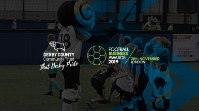 Derby County Community Trust Nominated For National Football Business Award
