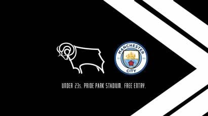 Watch The U23s In Action At Pride Park For Free